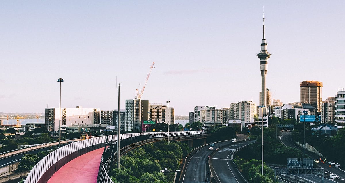 Photo background of Auckland City